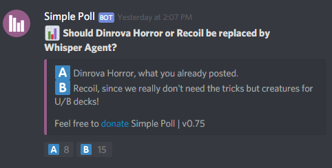 Recoil vs Horror: A Quick Guilds of Ravnica Update